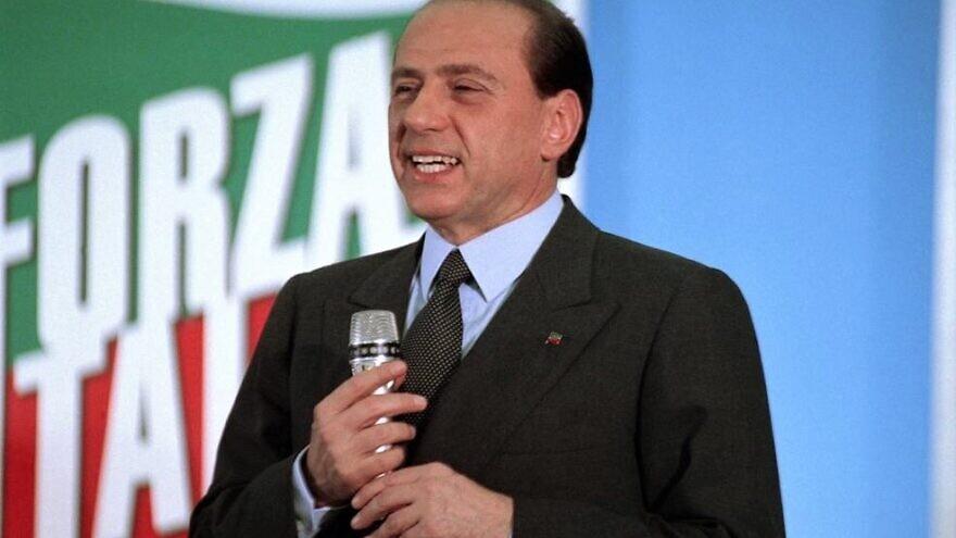 Former Italian Prime Minister Silvio Berlusconi of the Forza Italia Party, 1994. Credit: Wikimedia Commons.