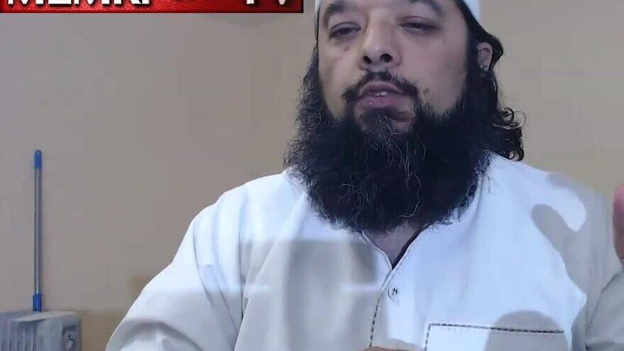 Chicago-based Islamic scholar Sheikh Omar Baloch. (MEMRI)