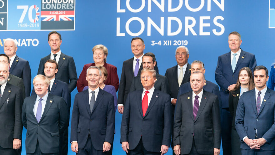 U.S. President Donald Trump with fellow North Atlantic Treaty Organization (NATO) members at the 70th anniversary of NATO in Watford, Hertfordshire, outside of London, Dec. 4, 2019. Credit: Official White House Photo by Shealah Craighead.