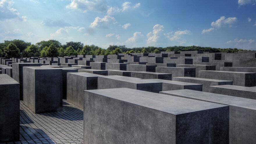 Memorial to the Murdered Jews of Europe in Berlin. Credit: Flickr.