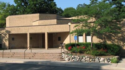 Beth Israel Congregation in Ann Arbor, Mich. Credit: Wikimedia Commons.