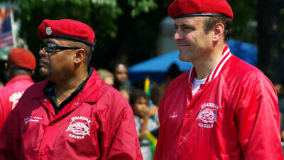 Curtis Sliwa, who founded Guardian Angels in New York City in 1979. Credit: Wikimedia Commons.