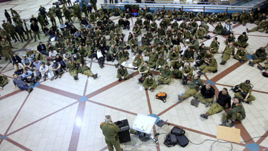 An Israeli rescue delegation left Ben-Gurion International Airport for the disaster area in Tahiti on Jan. 14, 2010. Photo by Marko/Flash90.