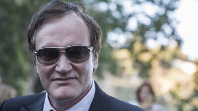 American filmmaker and actor Quentin Tarantino seen at the opening night of the Jerusalem Film Festival at the Cinematheque near the Old City of Jerusalem, on July 7, 2016. Credit: Hadas Parush/Flash90.
