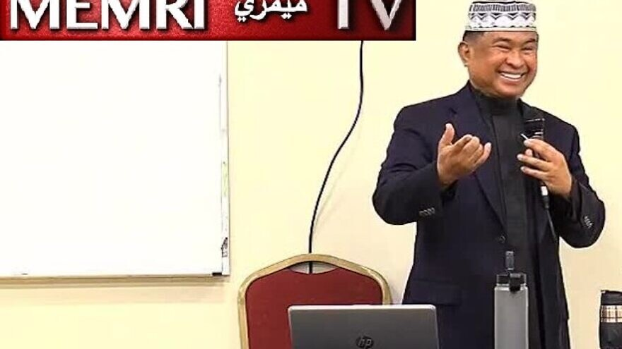 Indonesian-American Imam Mohamad Joban of Masjid ar-Rahmah in Redmond, Wash. (MEMRI)