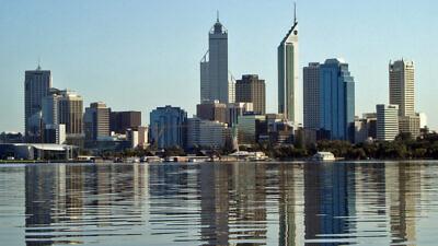 Skyline of Perth, Australia. Credit: Wikimedia Commons.