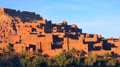 The Kasbah of Aït Benhaddou in southern Morocco, built by the Berbers from the 14th century onwards. Credit: Donar Reiskoffer via Wikimedia Commons.