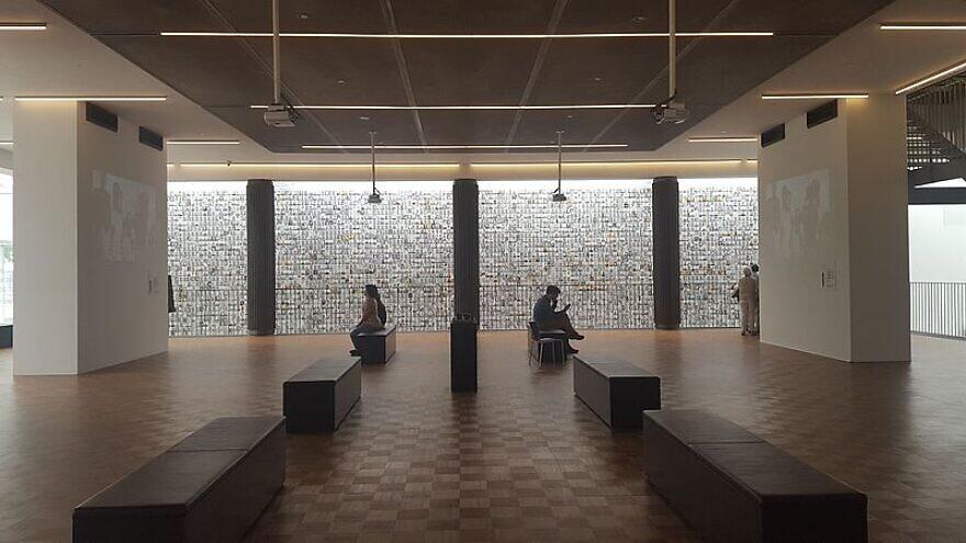 The interior of the Kazerne Dossin Memorial in  Mechelen, Belgium, on July 14, 2016. Photo: Wikimedia Commons.