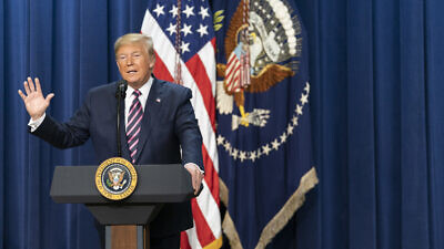 U.S. President Donald Trump speaks at the White House on Dec. 19, 2019. Source: Official White House Photo by Tia Dufour.