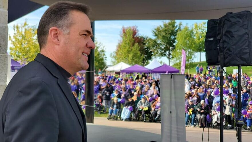 Rep. Russ Fulcher (R-Idaho) at a rally in October 2019. Source: Facebook.