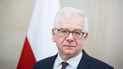 Polish Foreign Minister Jacek Czaputowicz. Credit: Wikimedia Commons.