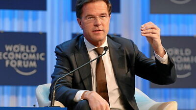 Dutch Prime Minister Mark Rutte speaks at the 2013 World Economic Forum in Davos, Switzerland, on Jan. 24, 2013. Photo: Monika Flueckiger/World Economic Forum via Wikimedia Commons.