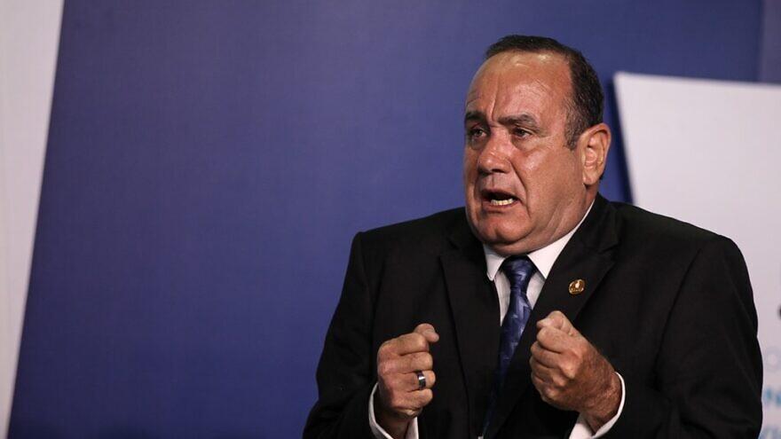 Guatemalan President Alejandro Giammattei. Credit: Wikimedia Commons.