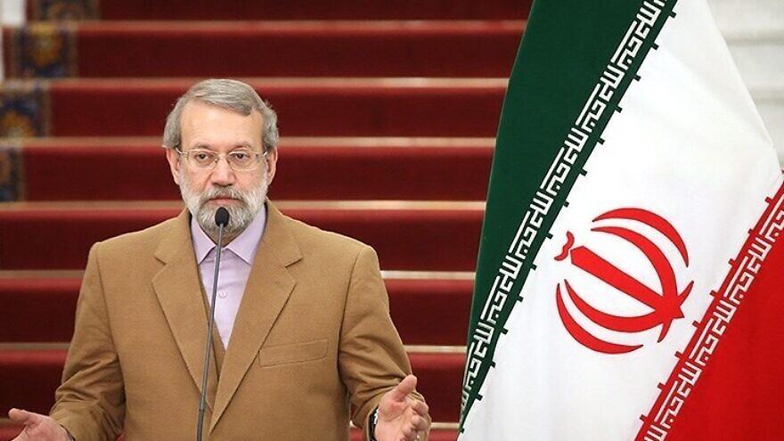 Iranian Parliament Speaker Ali Larijani on Dec. 6, 2016. Meghdad Madadi/Tasnim news agency via Wikimedia Commons.