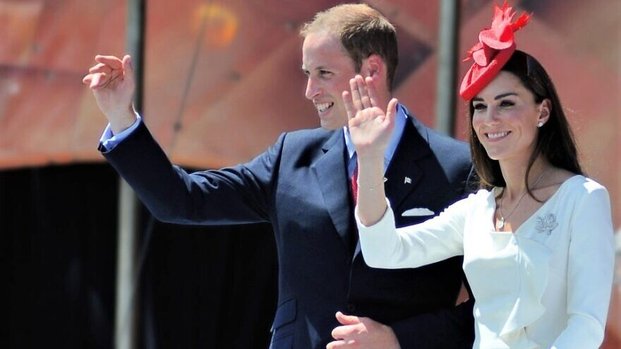 Prince William, the Duke of Cambridge, and Catherine, the Duchess of Cambridge visited Ottawa on Parliament Hill during Canada Day festivities, July 1, 2011. Credit: Wikimedia Commons.