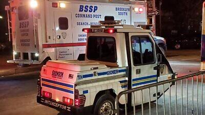 Shomrim emergency vehicles. Source: Williamsburg Shomrim via Twitter.