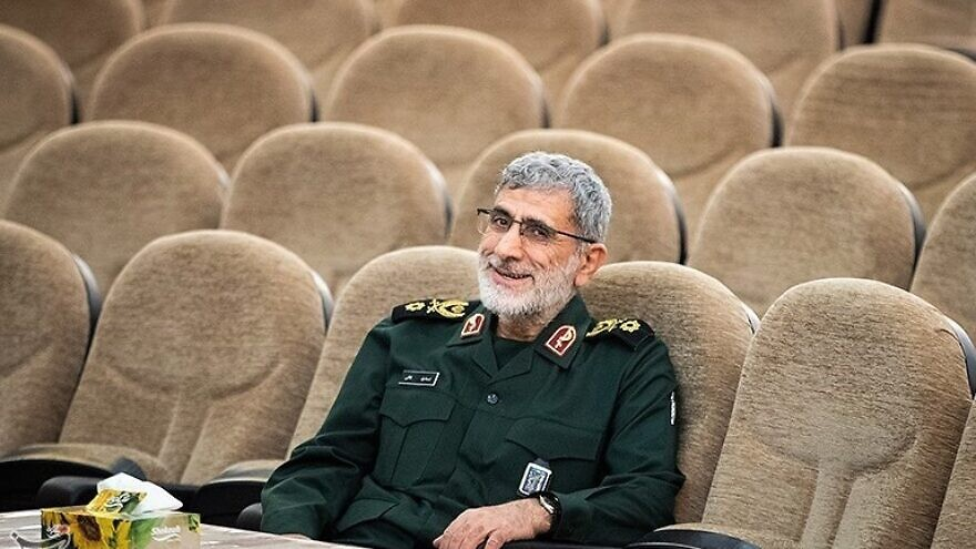 New commander of the Iranian Quds Force Brig. Gen. Esmail Ghaani. Credit: Erfan Kouchari via Wikimedia Commons.