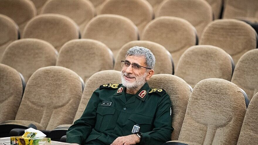 Iranian Quds Force commander Brig. Gen. Esmail Ghaani. Credit: Wikimedia Commons.