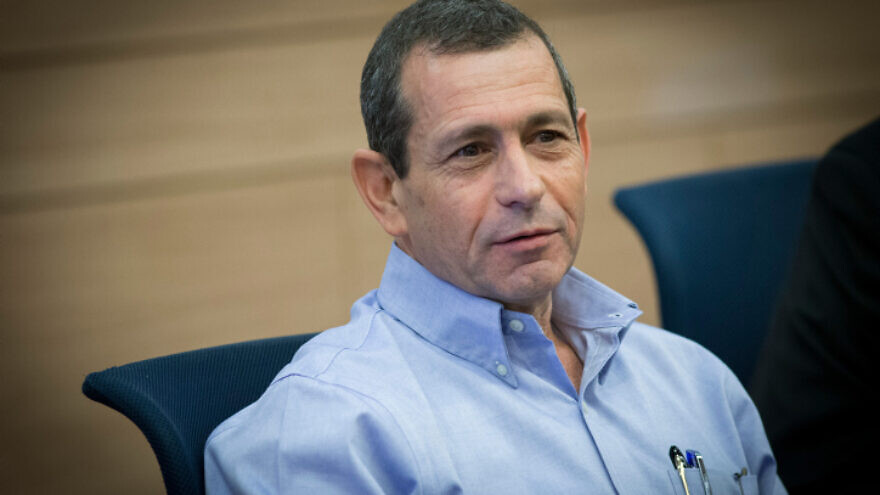 Israel Security Agency (Shin Bet) head Nadav Argaman attends the Defense and Foreign Affairs Committee meeting at the Knesset, on March 20, 2017. Photo by Yonatan Sindel/Flash90.