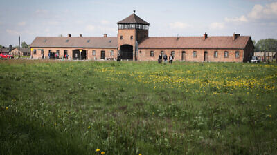 The Auschwitz-Birkenau Concentration Camp in Poland on May 10, 2017. Photo by Isaac Harari/Flash90.