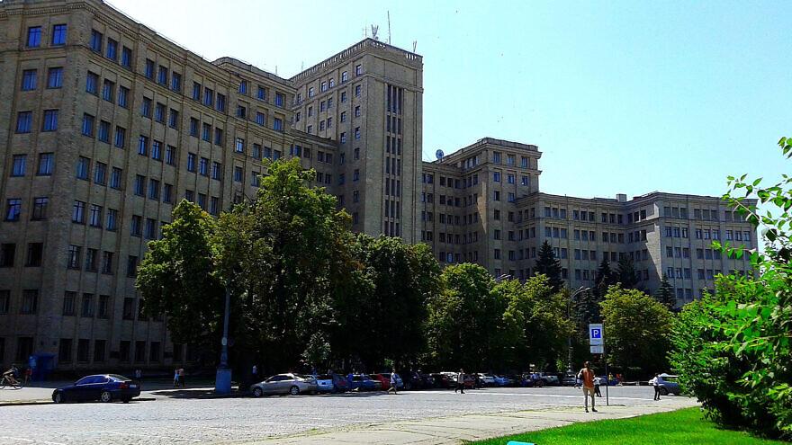 V.N. Karazin Kharkiv National University in Kharkiv, Ukraine. Credit: Wikimedia Commons.