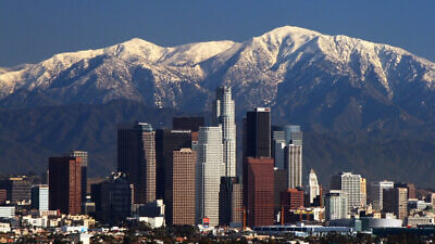Los Angeles skyline. Credit: Wikimedia Commons.