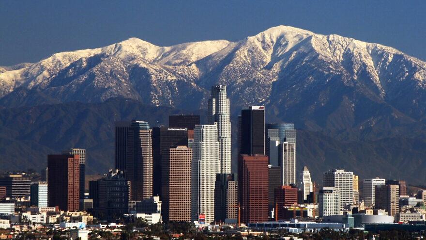 Los Angeles skyline. Credit: Wikimedia Commons.