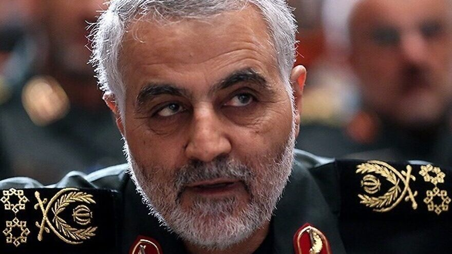 Maj. Gen. Qassem Soleimani, commander of Iran's Islamic Revoluntionary Guard Corps' Quds Force, Sept. 26, 2013. Credit: Mahmoud Hosseini via Wikimedia Commons.