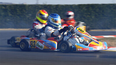 Roy Nissany at the Winter Cup in Lonato, racing for Morsicani Racing. Credit: Wikimedia Commons.