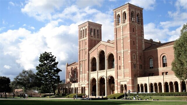 Royce Hall, the main building at the University of California, Los Angeles. Credit: Wikimedia Commons.