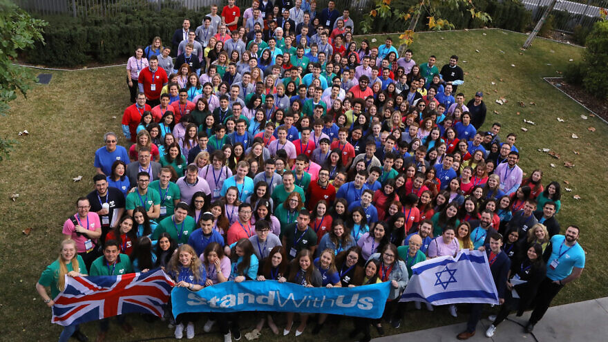 Participants in StandWithUs International Conference 2020, on Jan. 19, 2020 in Los Angeles, California. Credit: Courtesy.