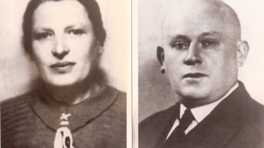 Ida and Avraham Ehrenreich. Sent on transport #31 from Drancy to Auschwitz on Sept. 11, 1942. Credit: Courtesy.