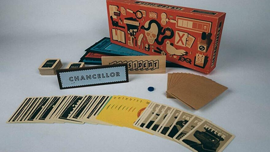 "The ""Secret Hitler"" board game. Source: Amazon."