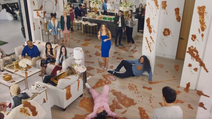 A scene from Proctor & Gamble's interactive Super Bowl LIV ad powered by technology derived from an Israeli startup, February 2020. Source: Screenshot.