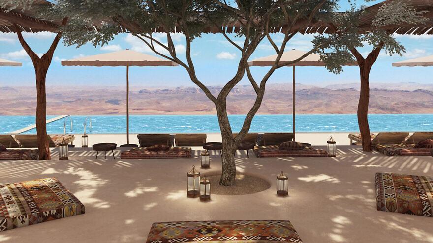 A artist's rendering of the Six Senses Shaharut hotel in Israel's Negev Desert. Source: Six Sense Shahrut.