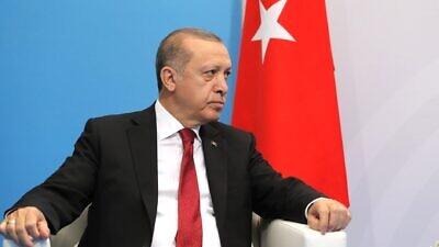 Turkish President Recep Tayyip Erdoğan. Credit: Kremlin.ru.