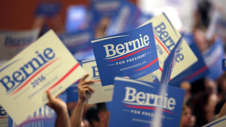 Supporters of Sen. Bernie Sanders (I-Vt.) for president in 2016. Photo by Gage Skidmore/Flickr.