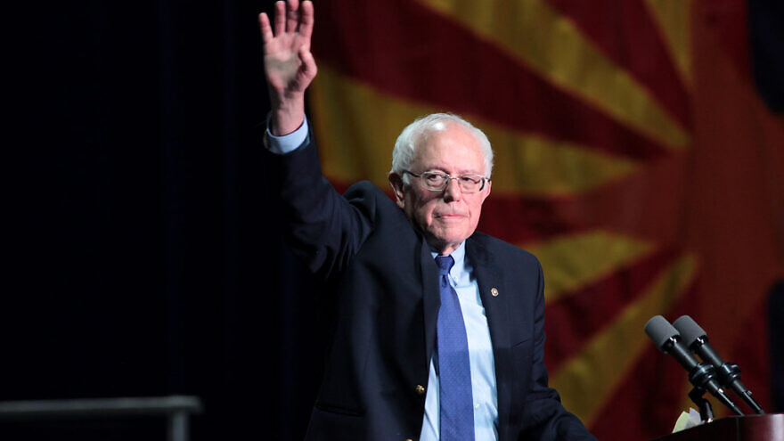 Sen. Bernie Sanders (I-Vt.) speaking with supporters at a campaign rally at the Phoenix Convention Center in Phoenix, Ariz. Credit: Gage Skidmore/Flickr.