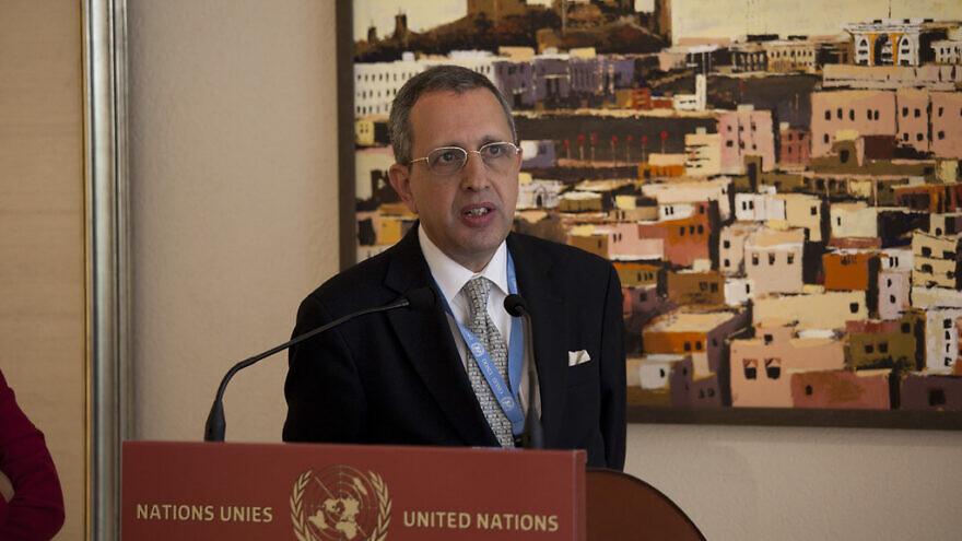 Former Tunisian Ambassador to the U.N. Moncef Baati. Credit: Flickr.