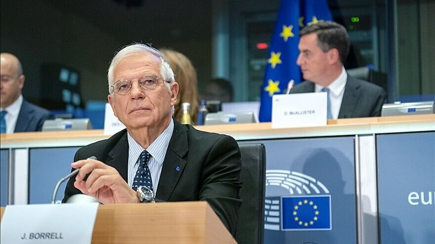 E.U. High Representative for Foreign Affairs and Security Policy Josep Borrell, Oct. 7, 2019. Source: European Parliament via Wikimedia Commons.