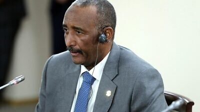 Transitional leader of Sudan Gen. Abdel Fattah al-Burhan. Credit: Wikimedia Commons.