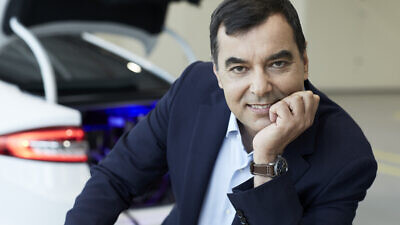 CEO of Mobileye and co-founder of OrCam Amnon Shashua. Credit: Heinz Troll European Patent Office.