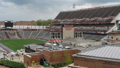 Chevy Chase Field at Byrd Stadium, home of the University of Maryland Terrapins. Credit: Wikimedia Commons.