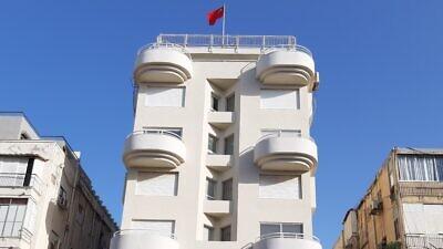 Embassy of China in Tel Aviv. Credit: Wikimedia Commons.