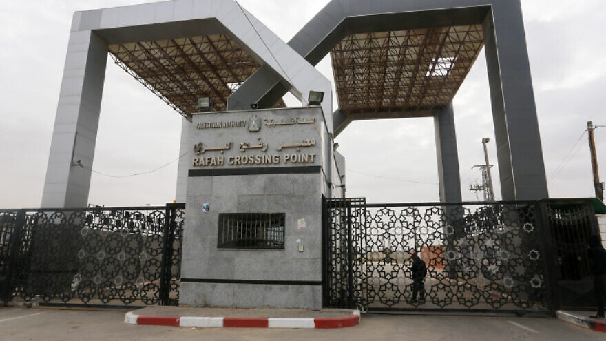 The Rafah border crossing with Egypt, under the control of the Palestinian Authority, in the Gaza Strip on Jan. 14, 2019. Photo by Abed Rahim Khatib/Flash90.