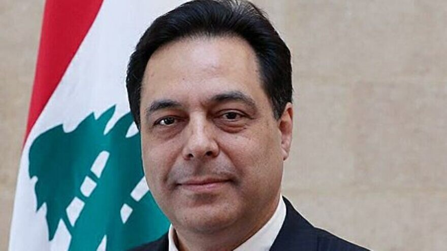 Lebanese Prime Minister Hassan Dian, Feb. 3, 2020. Credit: Wikimedia Commons.