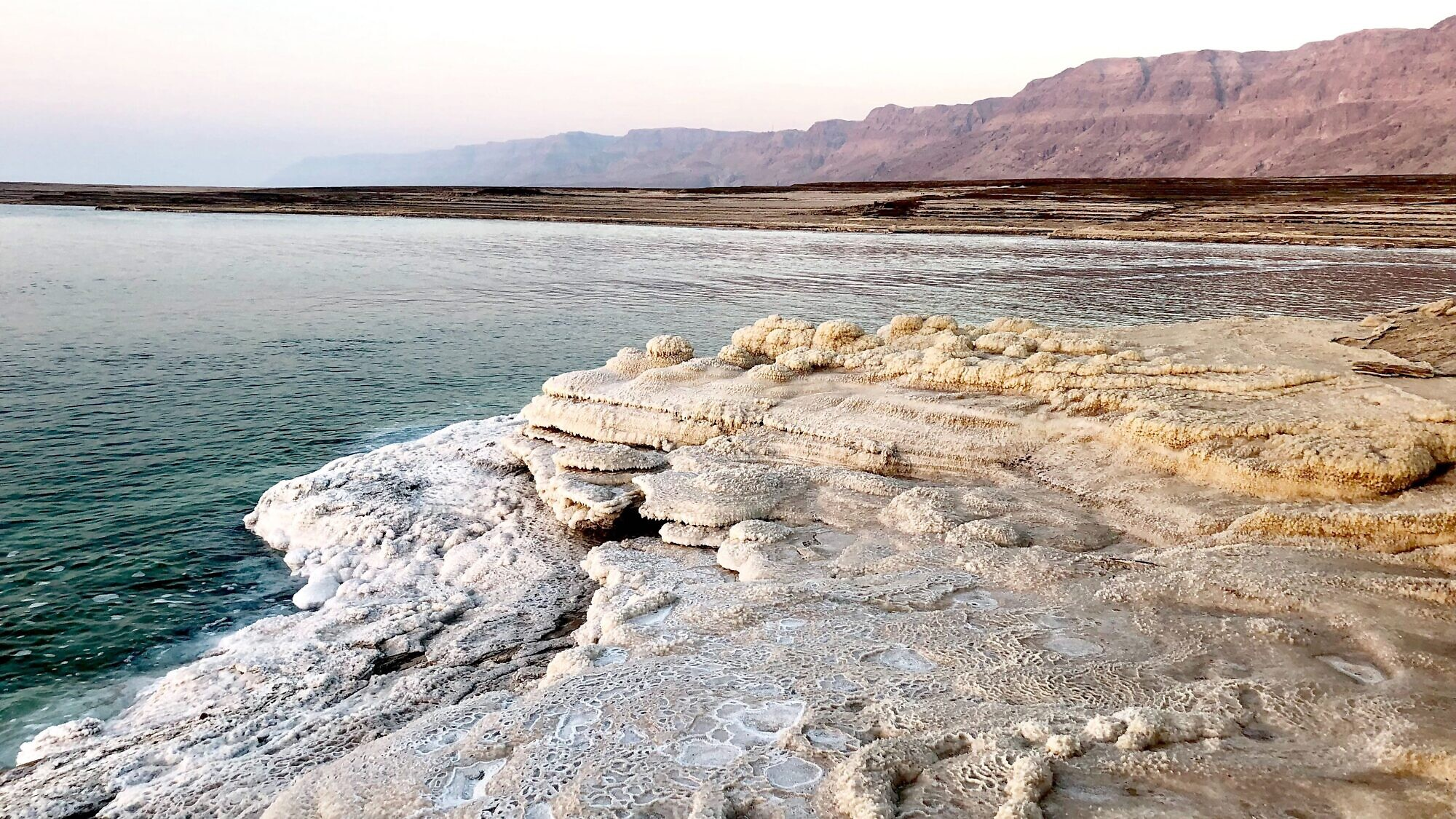 A view of the Dead Sea. Although it has been nearly 20 years with no new hotels built in the area, the region enjoys the highest annual average occupancy of hotels in Israel. Photo by Eliana Rudee.
