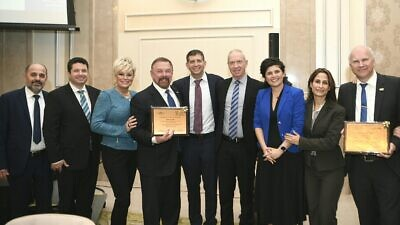 "Knesset Christian Allies Caucus and Keren Hayesod hold the 13th annual ""Night to Honor Christian Allies."" Credit: Knesset Christian Allies Caucus."