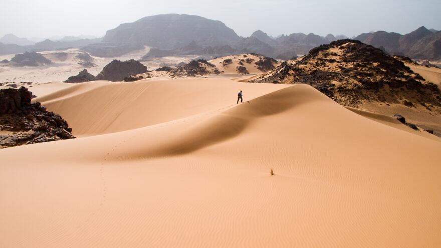 The Sahara Desert. Credit: Wikimedia Commons.