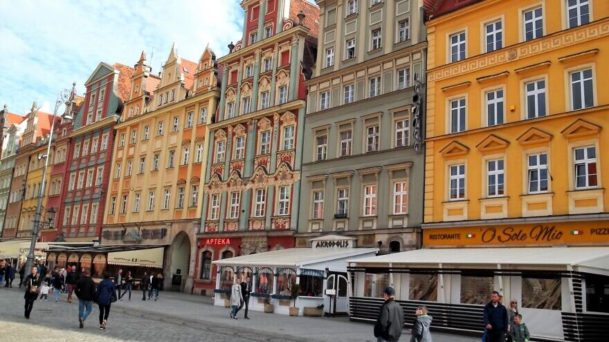 Market Square in Wrocław, Poland, on June 30, 2016. Credit: Wikimedia Commons.